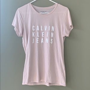 Calvin Klein jeans tee NWOT